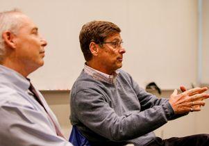 Dan Schnur and William Simon