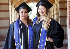 UCLA mother and daughter graduates