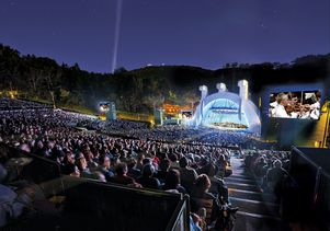Hollywood Bowl with classical music