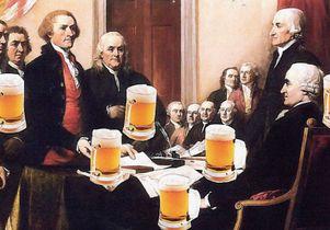 Constitution happy hour