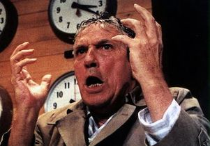 "Scene from the film ""Network"""