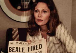 "Faye Dunaway in ""Network"""