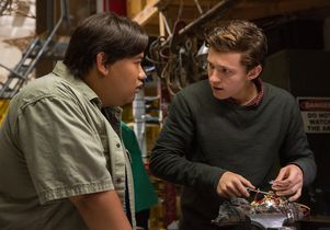 "Jacob Batalon, Tom Holland in  ""Spider-Man: Homecoming"""