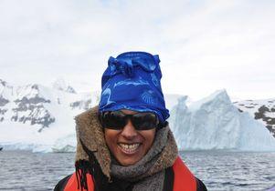 Aradhna Tripati in Antarctica