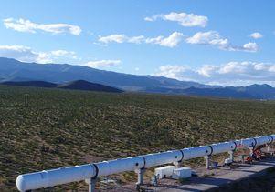 Hyperloop One project in Nevada