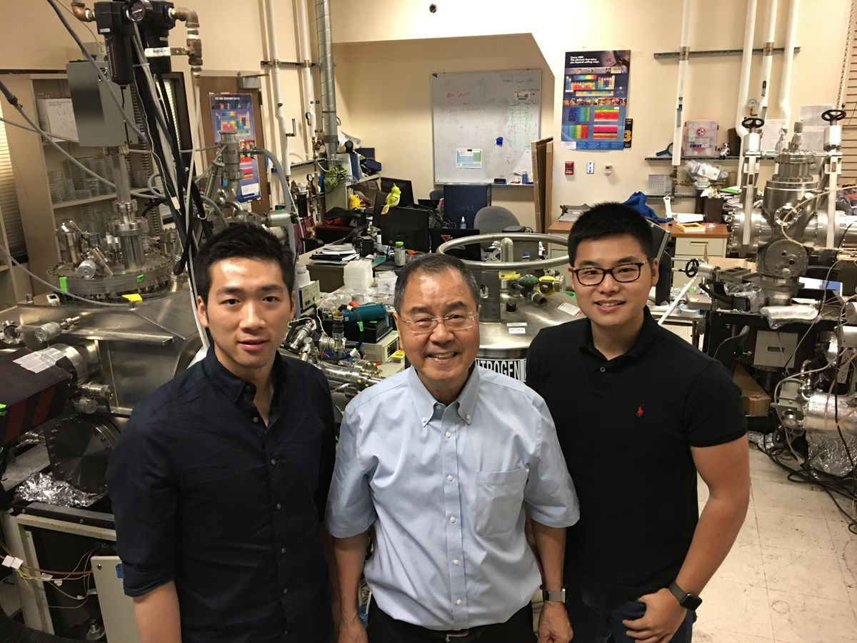 Majorana research team UCLA