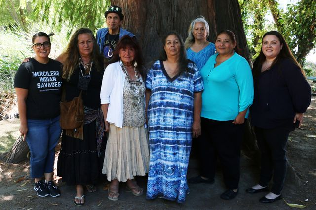 "Participants in the ""Teaching the Tongva"" conference."