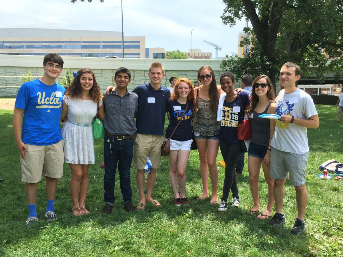 Alumni sendoff Washington, D.C.
