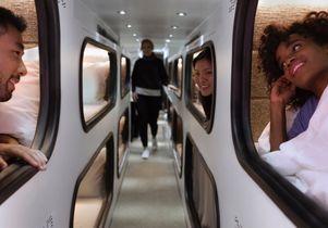 Passengers in Cabin