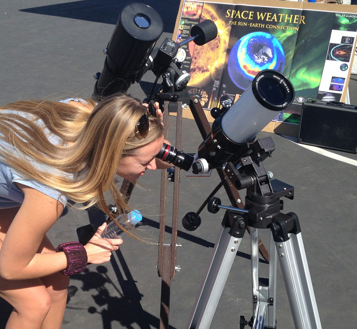 Watch the eclipse at UCLA