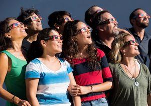 Mylar eclipse glasses
