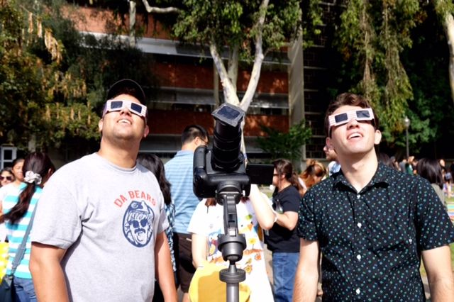 Eclipse watchers