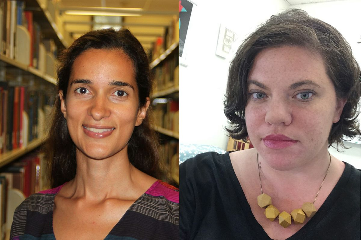 Ellen Scott and Miriam Posner