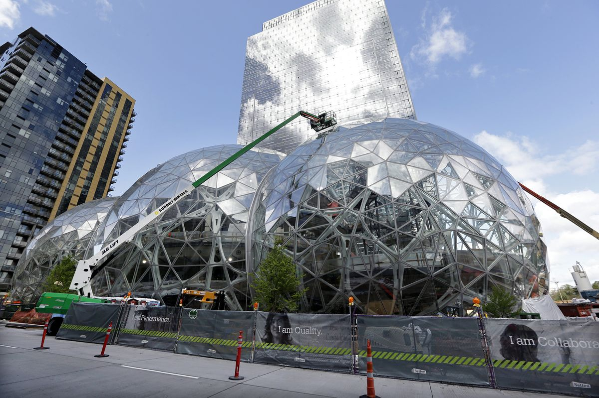 Amazon expansion in Seattle