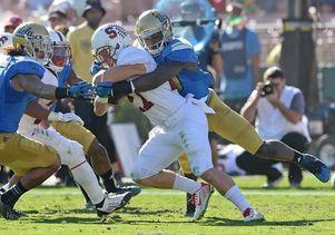 UCLA versus Stanford in football