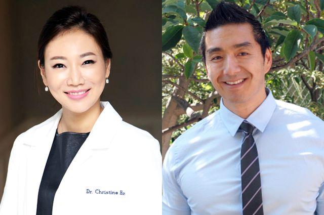 Christine Hong and Dean Ho