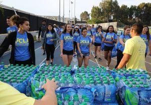 Bruins on Volunteer Day
