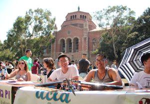 Design Build Fly club at UCLA's Enormous Activities Fair