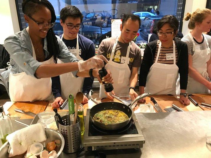 UCLA teaching kitchen