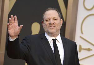 Harvey Weinstein at 2014 Oscars