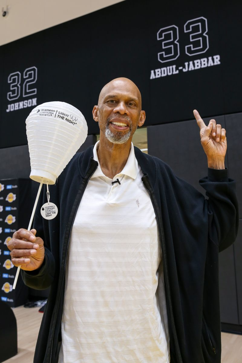 Kareem Abdul-Jabbar Light the Night