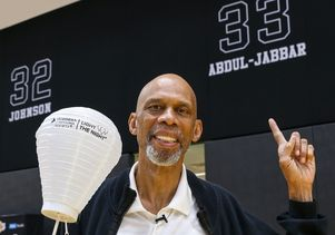 Kareem Abdul-Jabbar Light the Night