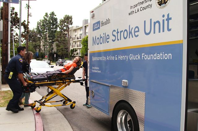 ucla health launches pioneering mobile stroke unit with support from