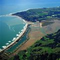 Bolinas Lagoon in Marin County, California