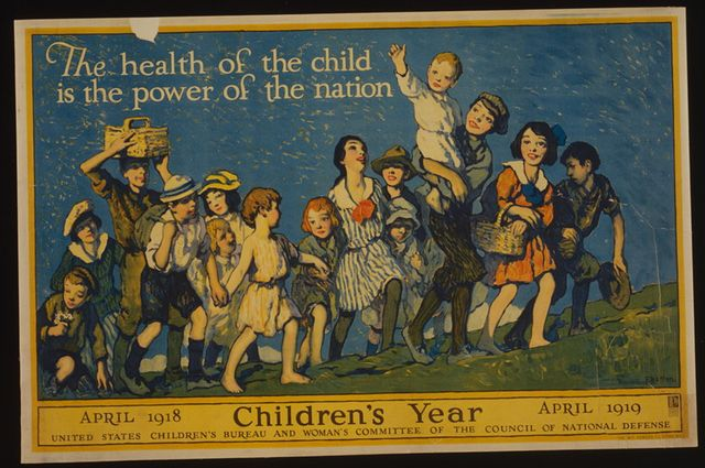 Mother's Pension Program poster