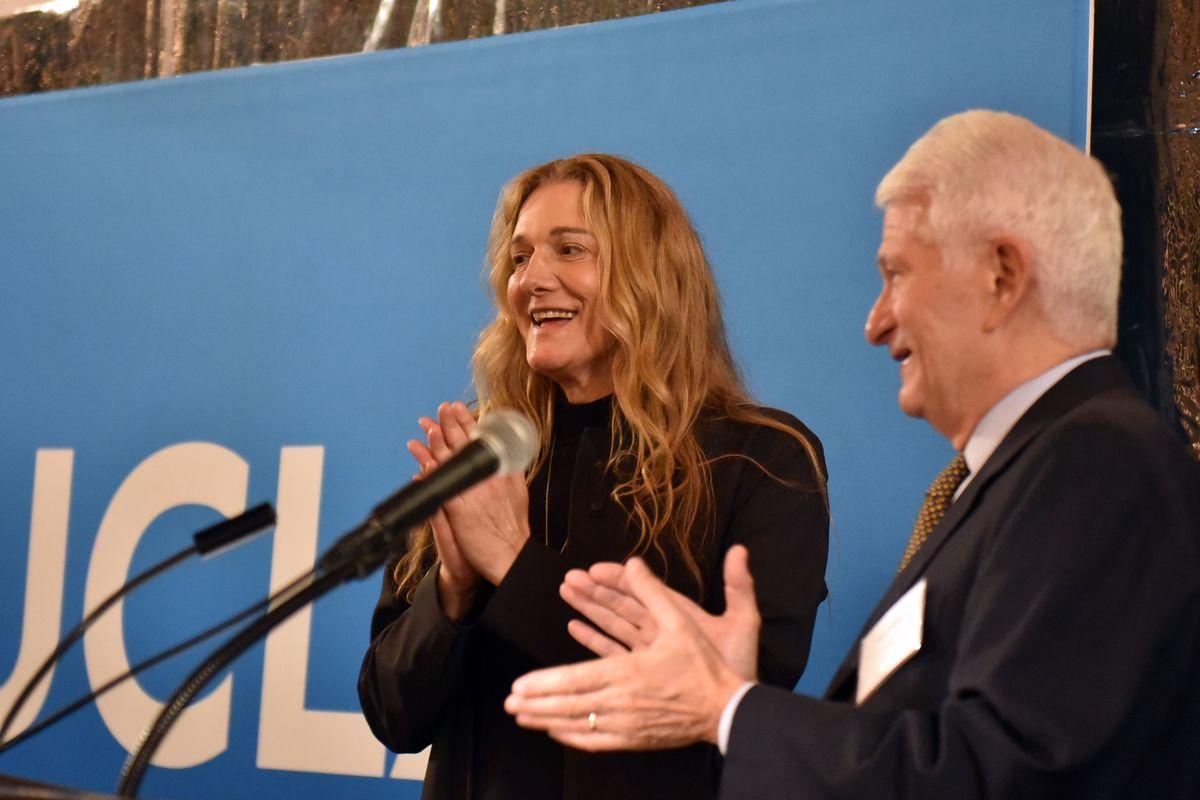 Martine Rothblatt and Gene Block