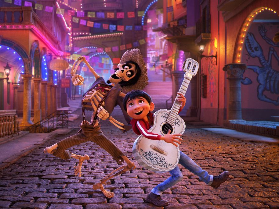 """""""Coco"""" film characters"""