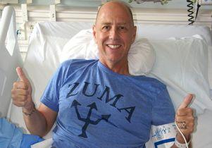 Josh Feldman in hospital