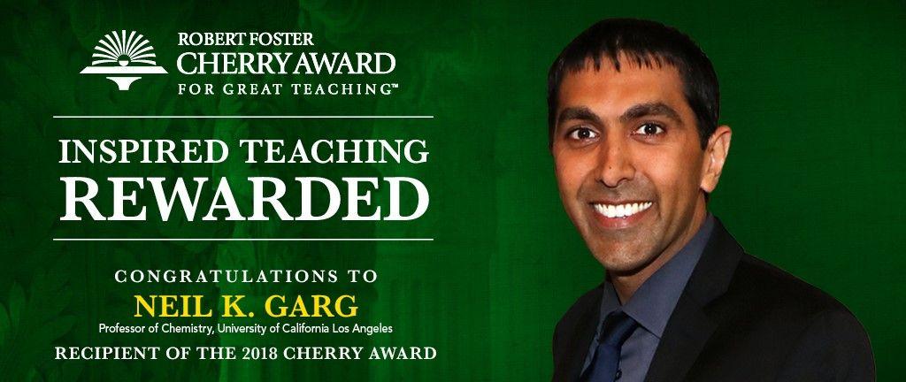 Neil Garg Cherry Award