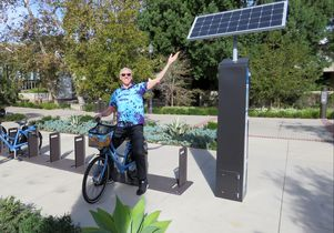 Reveling in the green power of the bikeshare program