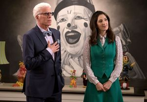 """The Good Place"" actors Ted Danson, D'Arcy Carden"
