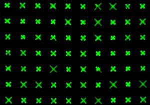 X shapes