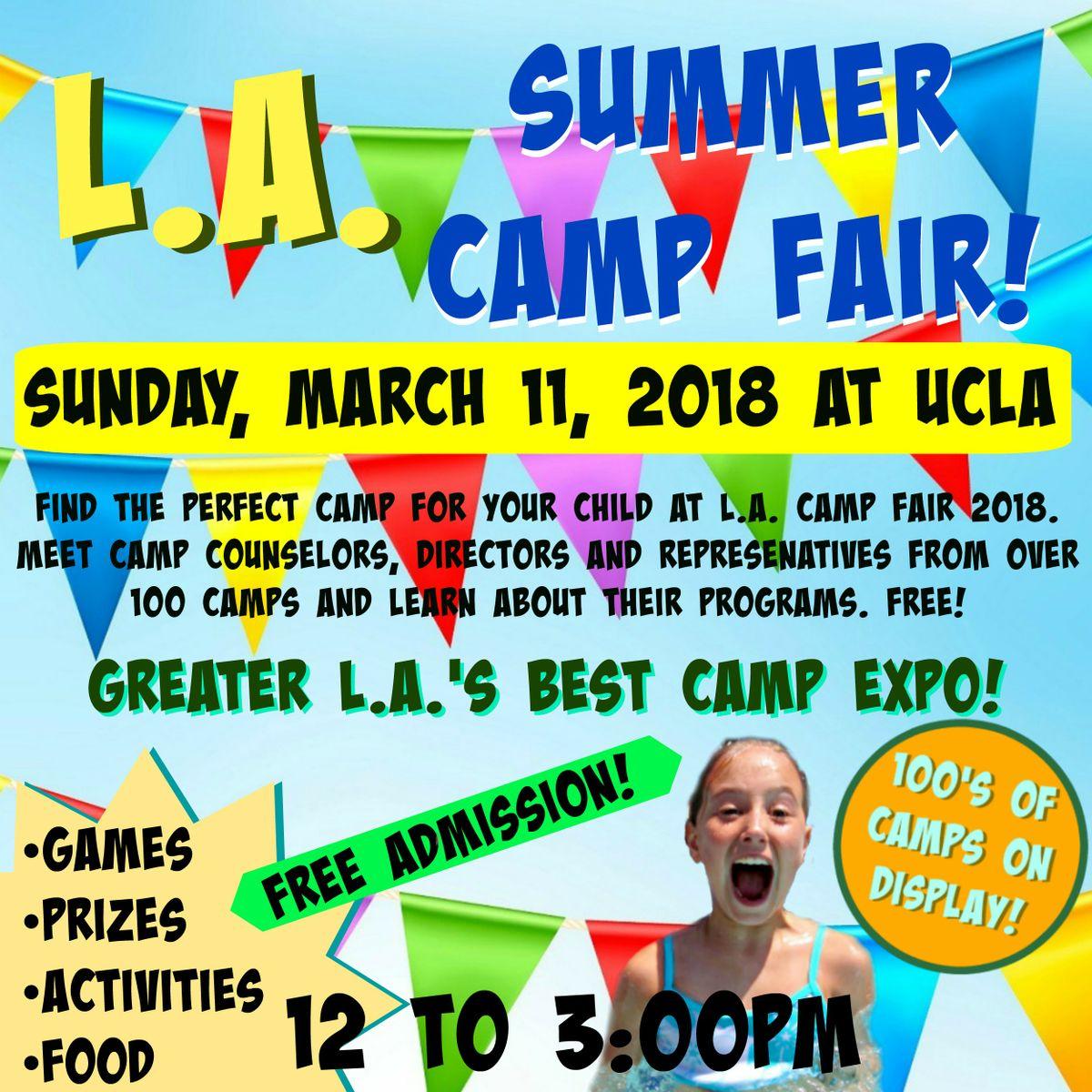 L.A. Camp Fair at UCLA