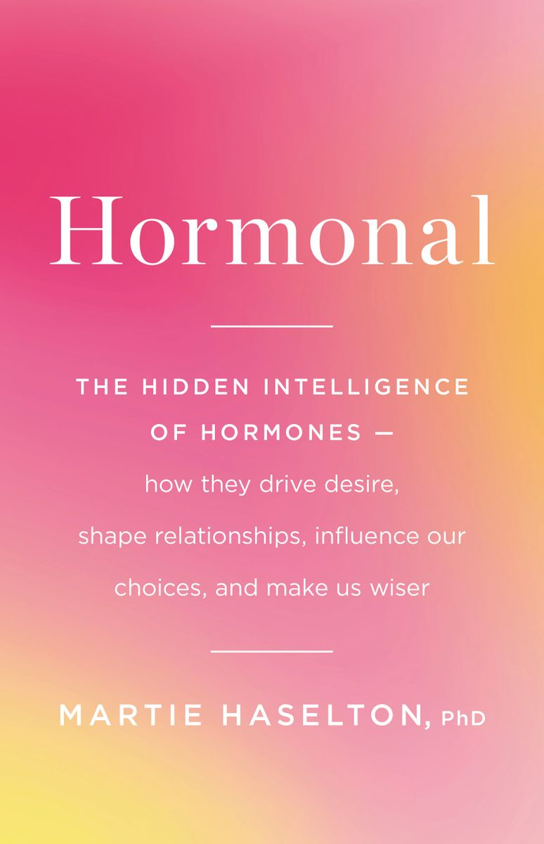 """Hormonal"" book cover"
