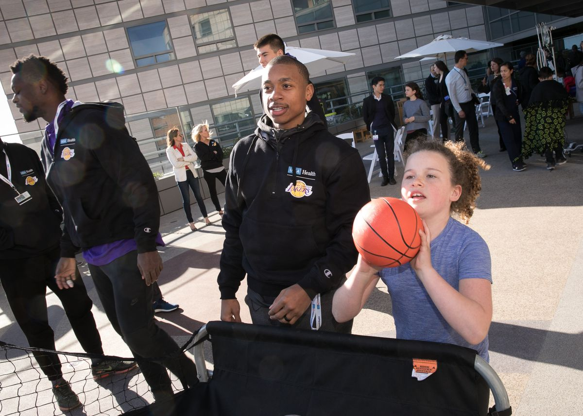 Lakers at UCLA Mattel Chidren's Hospital