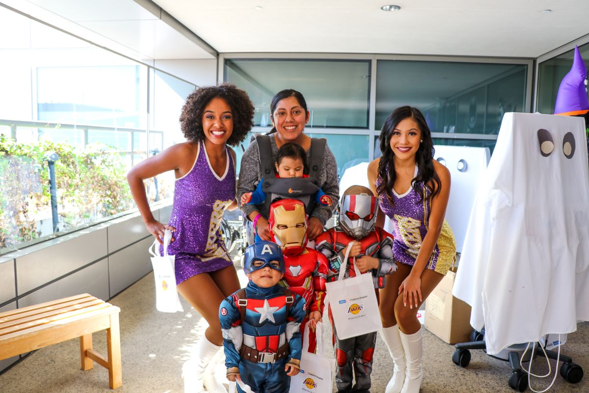 UCLA Mattel Children's Hospital Halloween