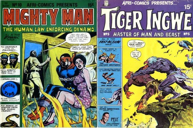 Covers of Mighty Man and Tiger Ingwe
