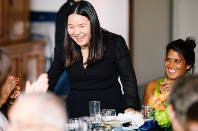 Miranda Wang applause