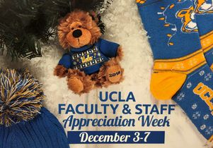 Faculty and staff appreciation week flyer