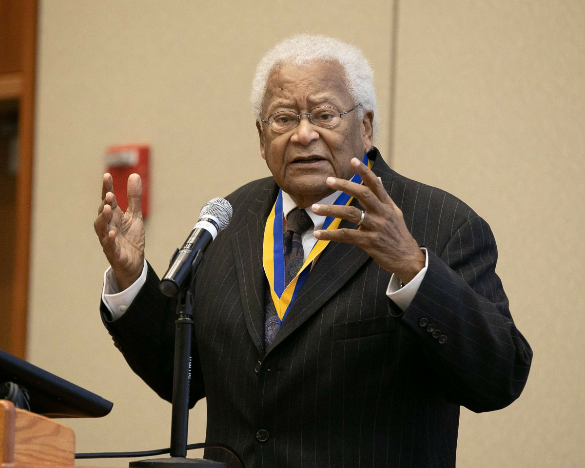 James Lawson UCLA Medal speech