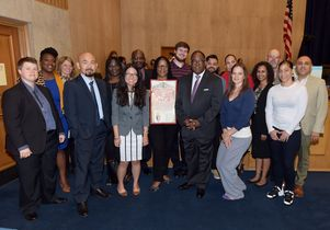 Reentry clinic honored