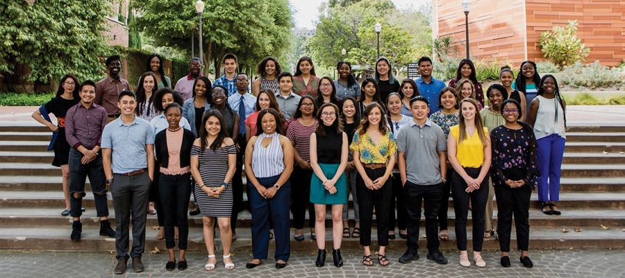 The first cohort in the UCLA Public Health Scholars Training Program.