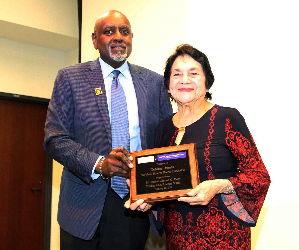 Charles Alexander and Dolores Huerta