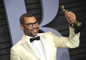 Jordan Peele with Oscar