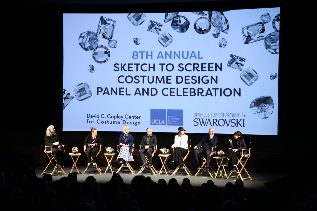 Sketch to Screen 2018 panel