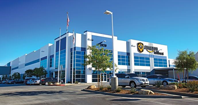 Amazon fulfillment center in San Bernardino County